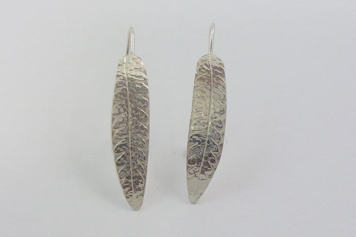 fern leaf earrings